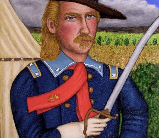 portrait-of-gengeorge-armstrong-custer-stephen-warde-anderson