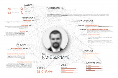 Busy Resume illustration