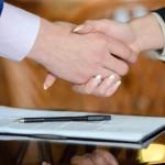 job offer acceptance handshake