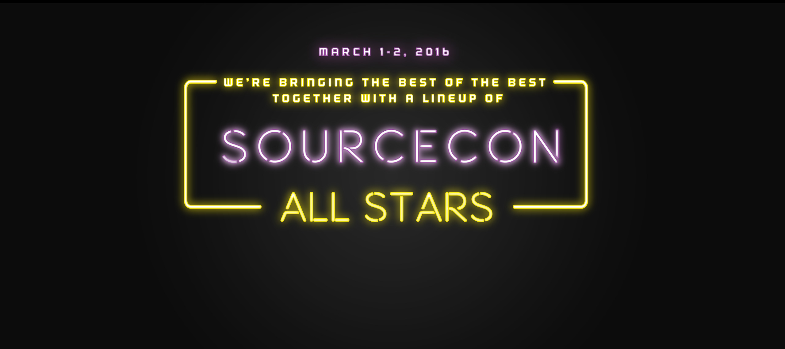 Sourcecon All Stars logo